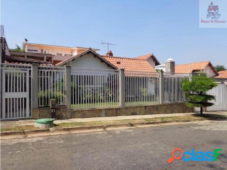 Casa en Venta Altos de Guataparo Nv 18-14034