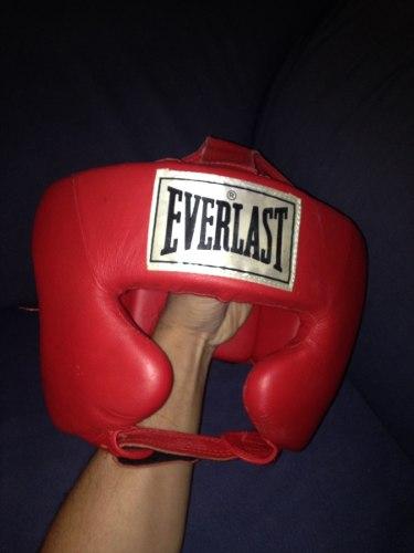Casco O Careta Para Boxeo O Artes Marciales Everlast Nueva