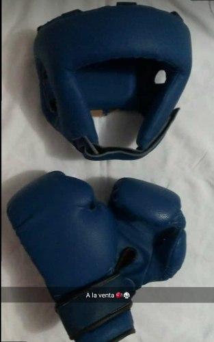 Caso Y Guantes De Boxeo