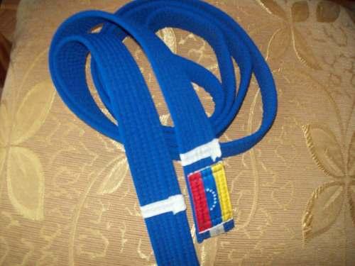 Cinta De Karate Do Azul