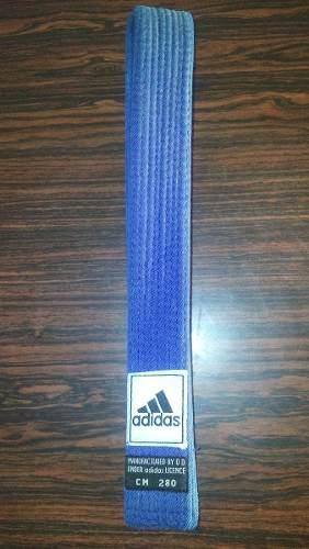 Cinta De Karate,artes Marciales,azul Marca adidas