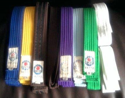 Cintas De Karate Varios Colores