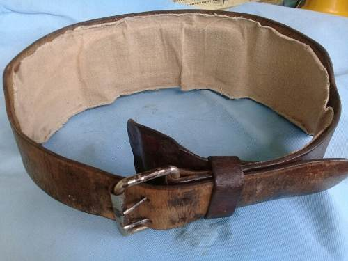 Cinturon De Cuero Para Levantamiento De Peso O Para Gym