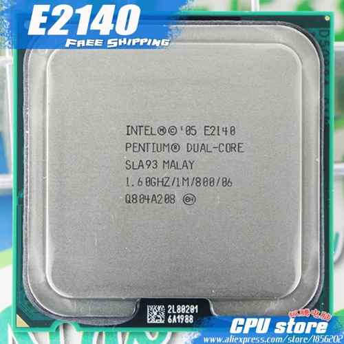 Cpu Intel Pentium Dual Core 1.6 Ghz Processor