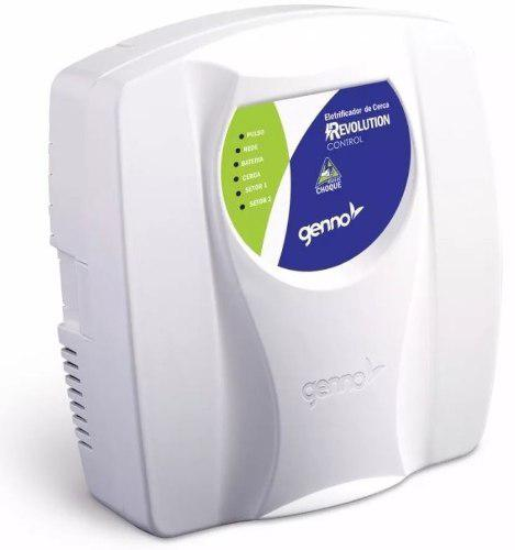 Energizador De Cerco Electrico Genno Rev Control 3100mts