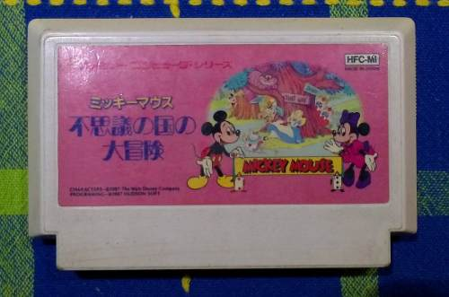 Fushigi No Kuni Do Daibouken:mickey Mousecapade Famicom Nes