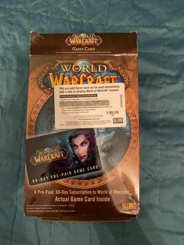 Game Card De World Of Warcraft