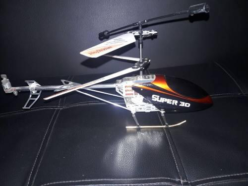 Helicoptero A Contro Remoto Super 3d