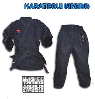 Karategui Bushido Kenpo Liviano Negro Talla 000 Al 0
