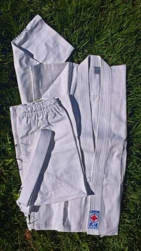 Karategui Kimono Uniforme Blanco Karate Niños T2 Tae Lopfre