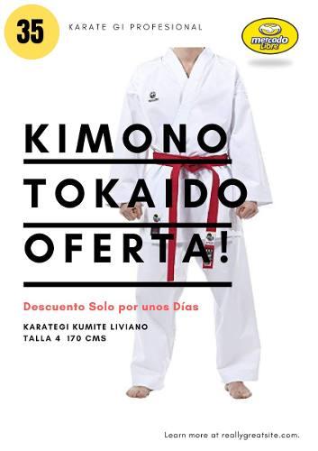 Karategui Tokaido Liviano Karate Talla cm Como Nuevo