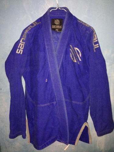 Kimono Jiu-jitsu Sanabaul En Excelente Estado! Talla A2