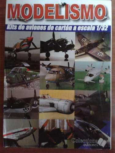 Kit De Aviones De Carton A Escala 1/32.