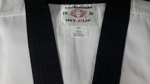 Uniforme Para Taekwondo Importado Talla 4