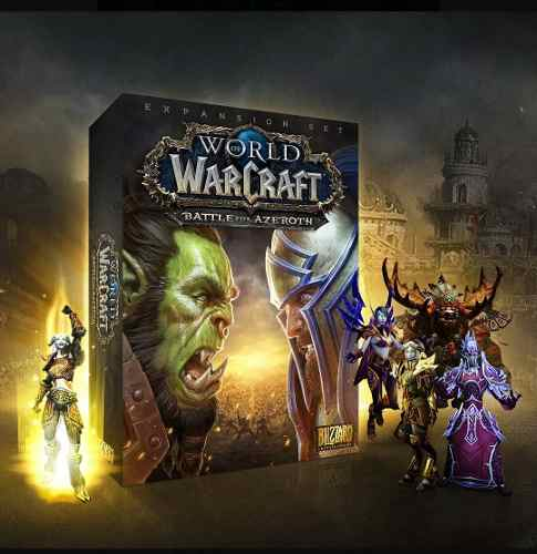 World Of Warcraft: Battle For Azeroth Complete Collection