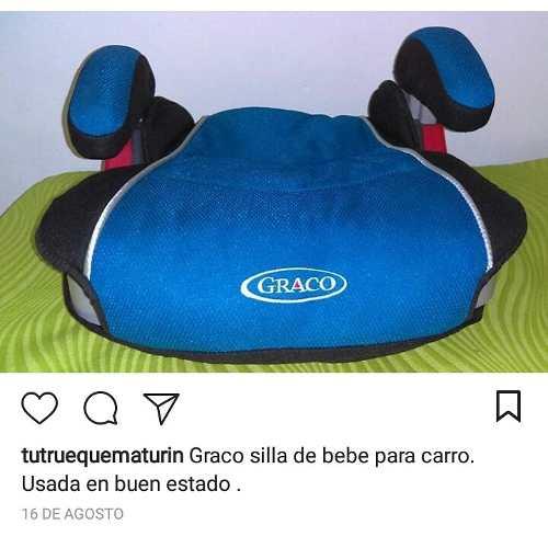 Graco Silla De Bebe Usada En Perfecto Estado.