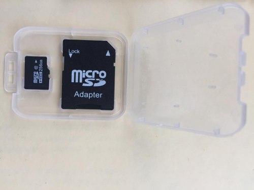 Memoria Micro Sd 256gb Con Adaptador Clase 10 Nueva