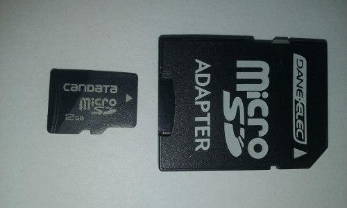 Memoria Micro Sd 2gb Y Adaptador