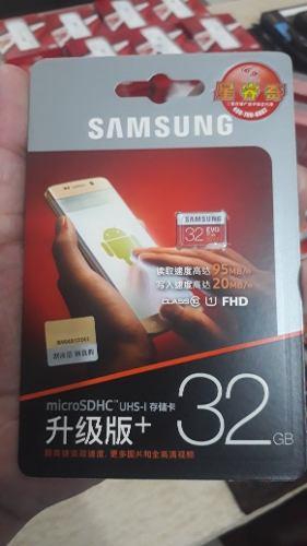 Memoria Micro Sd 32gb Samsung Fhd Uhs-1 Class 10 X-ray 95 Mb