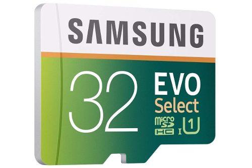 Memoria Micro Sd Samsung Evo Select 32gb Clase  Mb/s