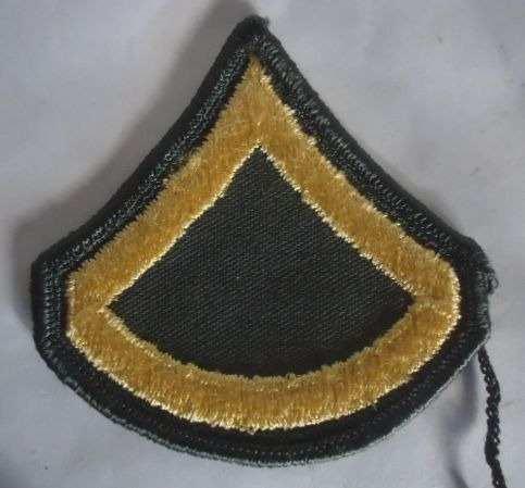 Antigua Insignia Americana Soldado De Primera Segunda Guerra