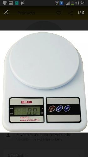 Balanza Peso Digital Cocina 7 Kg X 1gr Bateria Portatil
