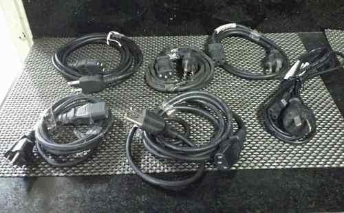 Cables De Poder De 3 Polos Para Computadoras Y Monitores