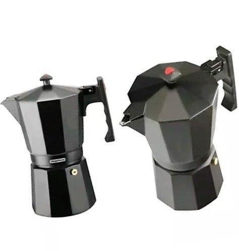 Cafetera Greca 3 Tazas Magefesa Aluminio Color Negro