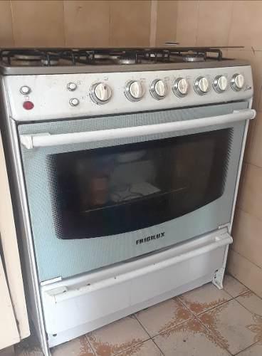 Cocina A Gas Frigilux 6 Hornillas Mas Horno Excelente Precio