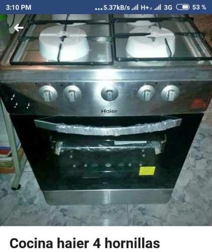 Cocina De 4 Hornillas Nueva En Su Caja
