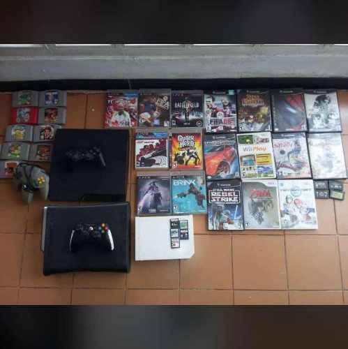 Consolas De Videojuegos Wii, Xbox 360 Y Playstation 3