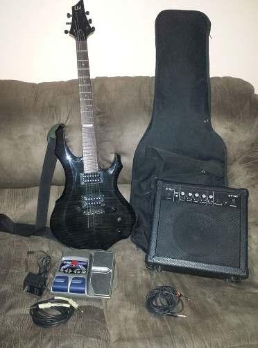 Guitarra Electrica Ltd F100fm Todo Cambio Por Componentes Pc