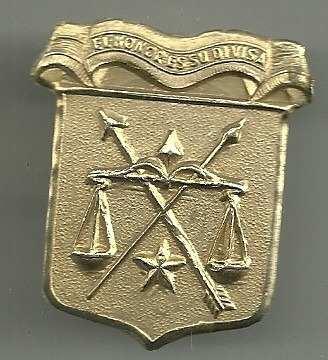 Insignia Antigua De La Guardia Nacional Para Kepi
