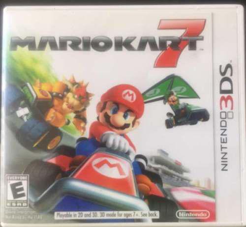 Juego De Mario Kart 7 Nintendo 3ds Original Poco Uso