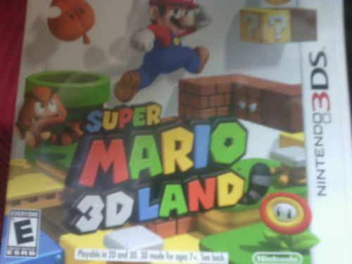 Juego Nintendo 3ds Super Mario 3dland Original Casi Nuevo