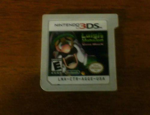 Juego Para 3ds Luigi's Mansion Dark Moon Usa