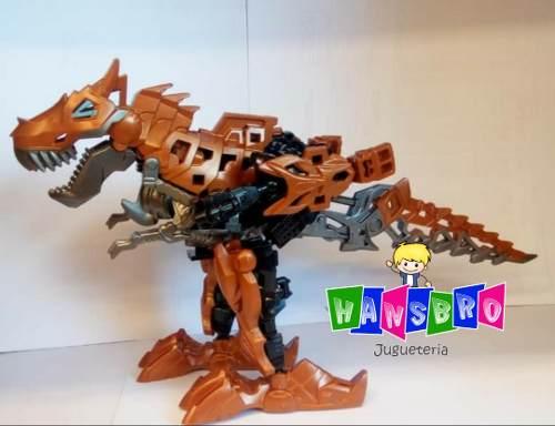 Juguetes Transformer Dinosaurios, Dinobot 24 Cm Super Oferta