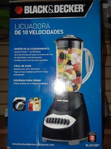 Licuadora Black And Decker 10 Velocidades Bl  Margarita