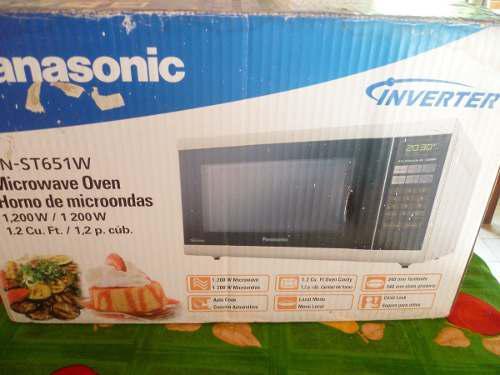 Microondas Panasonic Inverter Nn-st651w 1200w A Estrenar