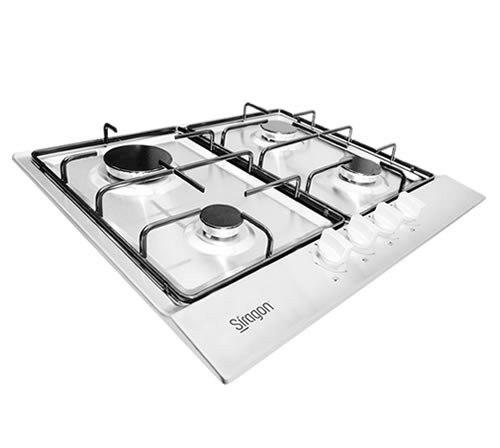 Tope De Cocina 4 Hornillas A Gas 60cm Marca Siragon Cod