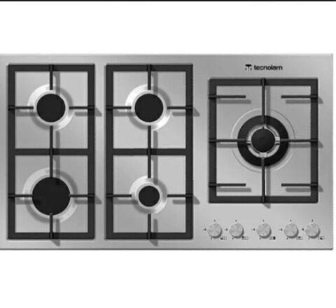 Tope De Cocina 90cm Tecnolam Modelo Flat Plus Ghisa