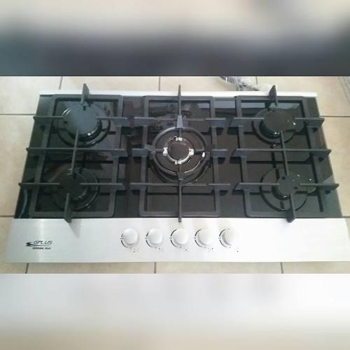 Tope De Cocina A Gas Vitrocerámico De 90 Cm Gplus