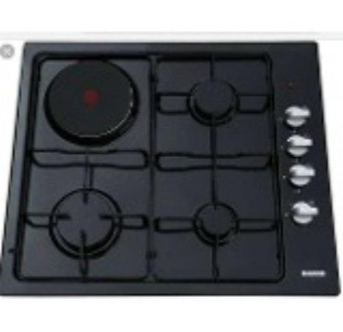 Tope De Cocina Mixto Gas Y Electrico 2 En 1 Marca Bacco