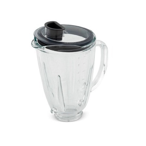Vaso De Vidrio Con Tapa Para Licuadora Oster Reversible