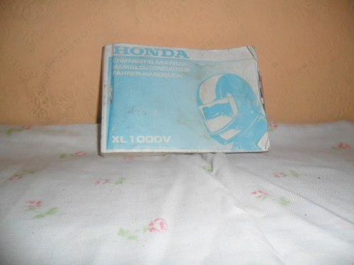 Manual De Usuario Moto Xl v Varadero