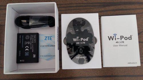 Modem Router Wifi Portatil Zte Wd670,4g Lte Digitel