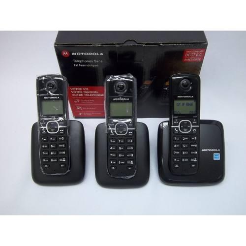 Telefono Inalambrico Motorola L603m Dect 6.0 Nuevos