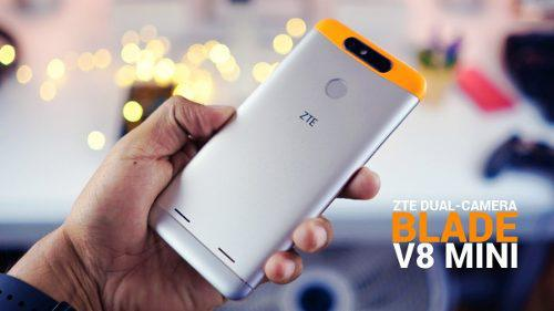 Teléfono Celular Zte Blade V8 Mini Con Lector De Huella