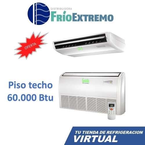 Aire Acondicionado Piso Techo Marca Green Split  Btu