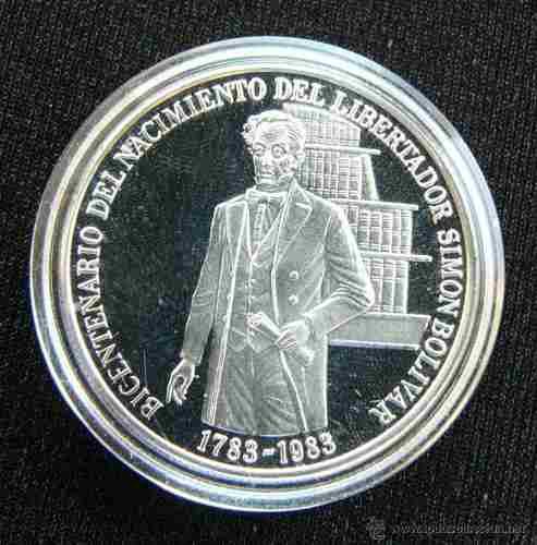 Bicentenario Del Libertador Simón Bolivar 5 Monedas De